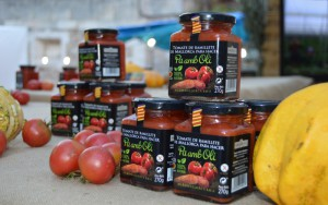 Aufstrich aus frischen Ramallet-Tomaten