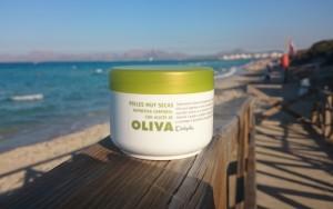 Körpercreme mit Olivenöl